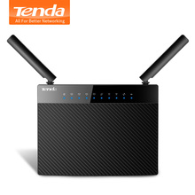 Tenda AC9 1200M Smart Dual-Band 802.11AC 2.4G/5GHz Gigabit Wireless WiFi Router Repeater, Broadcom Chip, Multi-language Firmware(China)