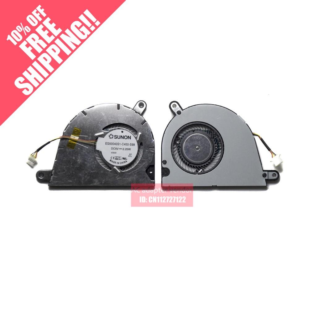 new SUNON eg50040s1-c450-s99 5v laptop cooling fan<br>