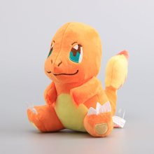 Anime Pikachu Sitting Charmander Stuffed Dolls Cute Plush Toy 8 inch 20 CM Kids Birthday Gift - LZ Manufacturer Store store