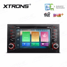 "XTRONS Octa Eight 8 Core 7"" HD Digital 2 din Android 6.0 Car DVD Player GPS  Navigate TPMS DAB+ 4G for Audi A4/S4/RS4 /SEAT Exeo"