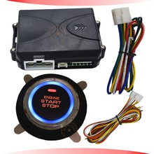 smart push button start stop system for car ignition purpose bypass output supporting diesel car