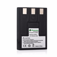 Powerextra 3.7v Battery NB-3L NB-3LH Camera Battery For Canon PowerShot SD10 IXUS 700 SD500 SD550 Batteries(China)