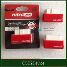 Best Sell For Diesel Nitro OBD2 Chip Tuning Box More Power & Torque NitroOBD2 Chip Tuning for Diesel OBDII Nitro Plug & Drive(China)