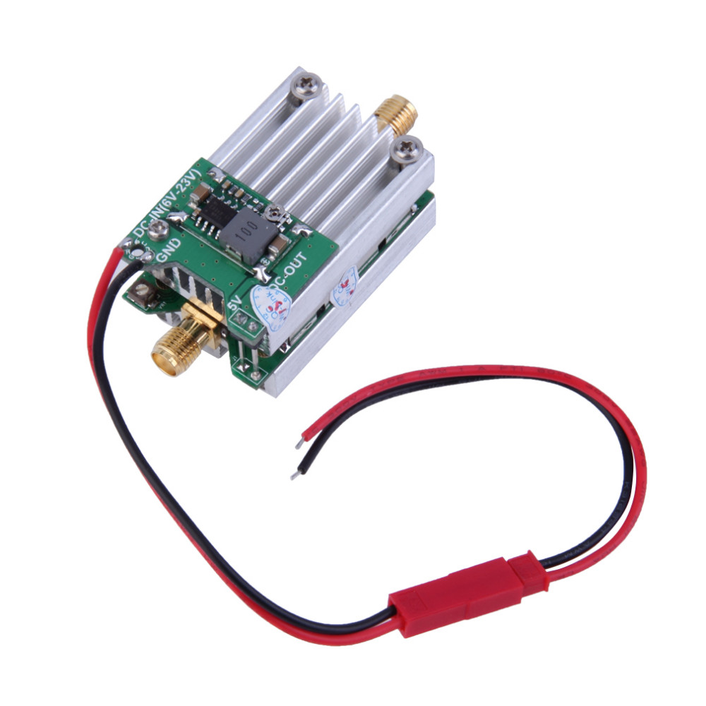 Wholesale 1pcs 5.8Ghz FPV Transmitter RF Signal Amplifier amp For Airplane Helicopter Model<br>