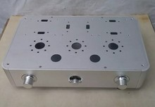 RCKJ New Amp case tube amplifier Enclosure chassis aluminum chassis diy tube amplifier chassis