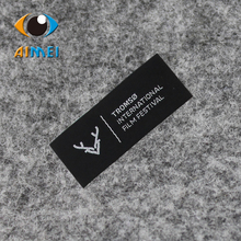 Free Design & Free Shipping Customize 200pcs/lot Outdoor sports clothing labels/garment tags / woven label/ embroidered label(China)