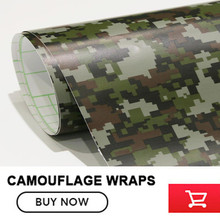 Green Digital Military Camo Film Sticker Car Hood Roof Truck Motorcycle Wrapping Camouflage Vinyl Size: 5x98FT /Roll