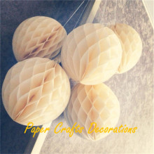 8inch=20cm 3pcs/lot Pastel Tissue Paper Honeycomb Lantern ball Hanging Birthday Party Decorations Baby Shower Marriage Decor