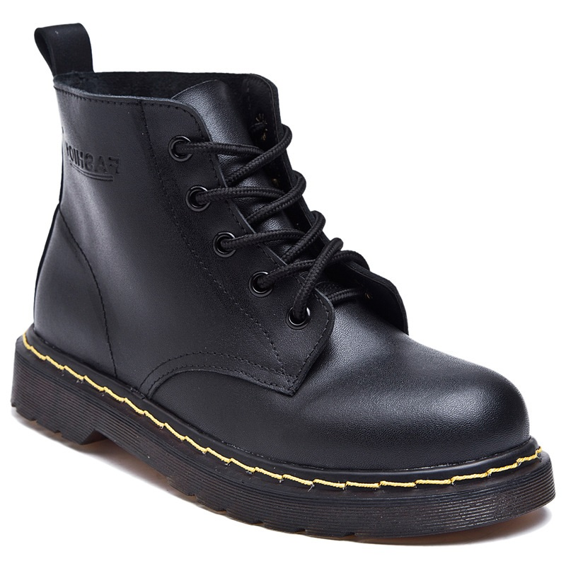 2017 Fashion Genuine Leather Flat Ankle Women Boots Ladies Boots Shoes Woman Motorcycle boots Bottes Femme Botas Mujer Femininas<br><br>Aliexpress