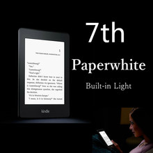 Brand New Unopened Kindle Paperwhite 7 Generation E-book reader Built in Light 6 Inch 4GB Ebook Reader E-ink Ereader(China)