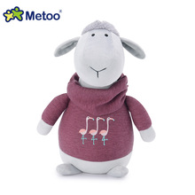 8.5 Inch Kawaii Plush Stuffed Animal Cartoon Kids Toys for Girls Children Baby Birthday Christmas Gift Sheep Metoo Doll(China)