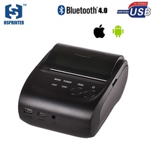 Thermal mobile phone printer bluetooth IOS 58mm mini impressora termical usb rs232 portable pos ticket printer HS-584AI