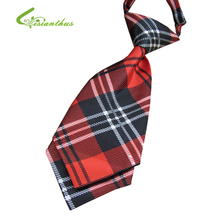 2017 New Scottish plaid Free shipping baby/kid/children ties neck ties Boys Girls tie handsome young gentleman cool fashion tie(China)