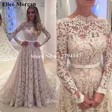 Long Sleeve Wedding Dresses 2017 Lace China Vestido De Noiva Bohemian Indian Real Photo Backless Unique Elegant Bridal Gowns