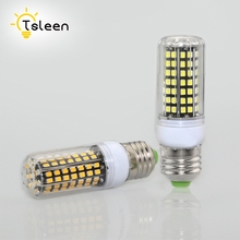 TSLEEN E27 LED Bulb E14 LED Lamp 2535 SMD Corn Candle Lamp 5W 9W 11W 15W 20W 25W Chandlier Lighting Home Decoration LED Lights(China)