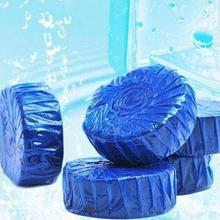 Blue bubble Toilet Cleaner Toilet Ball Cleaner bathroom Air Fresh Smell Remove toilet cleaner air fresh Magic cleaner A5(China)