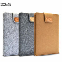 "High quality Felt Liner Sleeve Laptop Bag Notebook Case Computer Bag Smart Cover for 8 ""11"" 13 ""15"" inch Macbook Air Pro Retina"