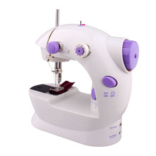 Desktop Portable Mini electric sewing machine Household/Teaching handmade sewing matching tools European standard plug
