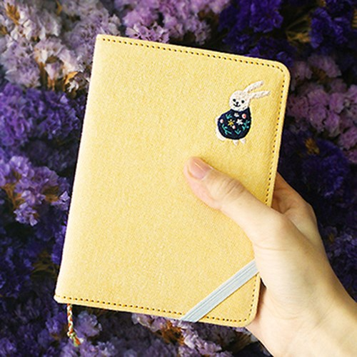 2018 The Playing Diary Colorful Daily Planner 11.8*16cm Cloth Patch Fashion Agenda Gift 272P<br>