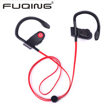 V8 Wireless Bluetooth earphones headphone Handfree Sport Stereo Headset Bass Earbud with Mic for Player Computer Iphone Samsung(China)