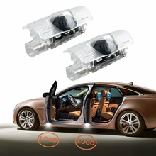 2 x LED Car door Welcome Laser Projector Logo Ghost Shadow Light For Lexus RX 300 330 GS 400 430 HS IS 200 250 LS LX 570 ES SC