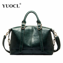 YUOCL Designer Women Leather Handbag 2016 New Popular Fashion PU Leather Women Shoulder Messenger Bag for female bolsa feminina