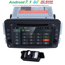 Buy Stock ANDROID7.1 CarDVD PLAYER Mercedes Benz W209 W203 W168 ML W163 W463 Viano W639 Vito Vaneo 4G Wifi GPS BT Radio 2GRAM for $299.99 in AliExpress store