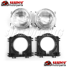 1 Pair Headlight for Honda Motorcycle Headlamp CBR250 Light NC19 NC22 CBR NC23 NC29 400CC CBR VFR NC30 RVF NC35