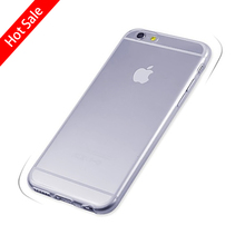 FEIHOO ELE Phone Cases For Iphone 6S 7plus 5S 4S Cover Ultra-thin Transparent Soft Silicone Mobile Phone Bag Case