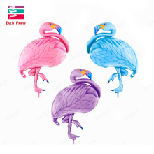 Large bird balloons Flamingo foil balloons children classic toys Inflatable helium balloon birthday wedding balls party supplies(China)