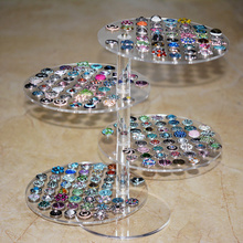 Newest snap button bracelet display fit 12mm 18mm 20mm button for 192pcs(without button)