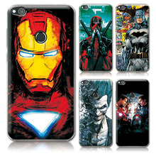 "For Huawei P8 Lite 2017 Phone Cases Cover Charming Marvel Avengers Captain America Deadpool For Huawei P8 Lite 2017 5.2"" Cover"