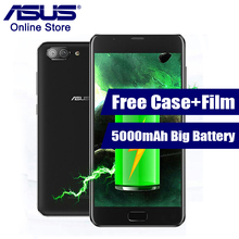 2017 Newest ASUS Zenfone 4 Plus Max ZC550TL X015D 3GB 32GB Mobile Phone 5000mAh Battery 5.5 Inch Android 7.0 MT6750 3 Cameras(China)