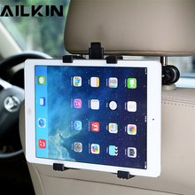Universal Car Phone Tablet Holder Stand AILKIN Back Auto Seat PC Headrest Bracket Support Accessories for phone iPad Mini pro