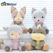 13 Inch  Metoo brand Plush Sweet dolls Cute Stuffed Cartoon Baby Kids Toys for Girls Birthday Christmas Gift Animals Doll