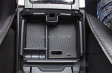 Car Armrest Box Central Secondary Storage Glove Phone Holder Container For Land Rover Range Rover Evoque 2009-2013 Accessories(China)
