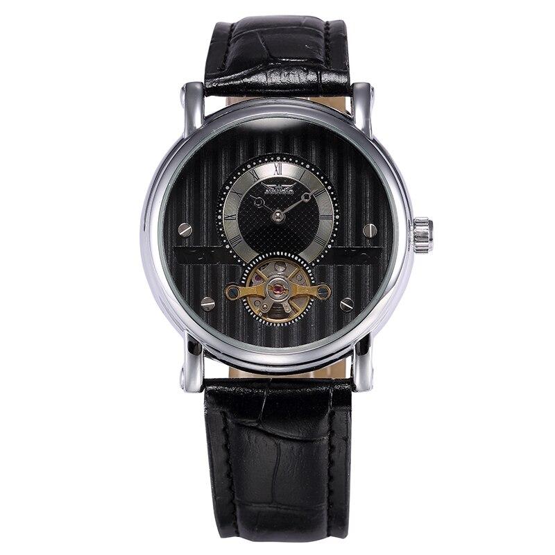 JARAGAR Fashion Casual Men Watch Reloj Hombre Male Clock Mens Automatic Mechanical Wristwatch Tourbillon Dial Relogio Masculino<br>