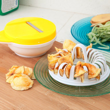 Portable DIY Microwave Oven Potato Chips Maker Set Home Low Calories Vegetable Chips Pastry Kitchen Baking Tools Free Shipping