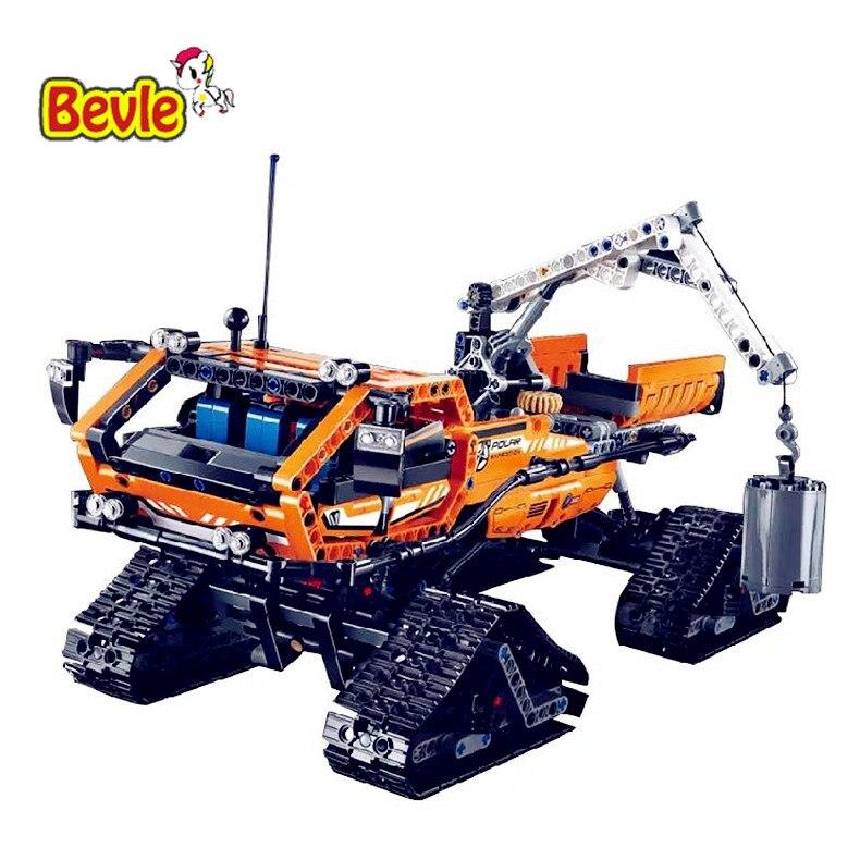 New 913pcs Lepin 20012 Technic Series Mechanical Group The Polar Adventure Vehicle 2in1 Building Blocks Bricks Set Toys 42038<br>