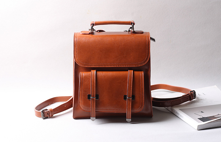 bec734b36e15 Detail Feedback Questions about New Special Women leather backpack ...