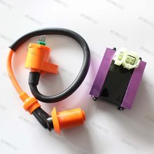 GY6 50cc 125cc 150cc Scooter Motorcycle Go kart ATV Racing CDI Box+Ignition Coil(China)