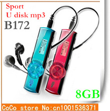 Cheap New Arrival 8GB Sport mp3 players 8 colors FM-radio Digital Screen MP3 Music Player Pen USB Flash Drive B172F