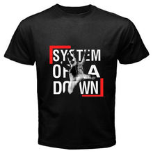 2017 Newest Men Soad System Of A Down Rock Band Logo Design Men'S T Shirt Boy Cool Tops Hipster Printed Summer T Shirt(China)