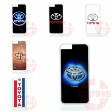 For Apple iPhone 4 4S 5 5C SE 6 6S 7 Plus 4.7 5.5 iPod Touch 4 5 6 Toyota Logo Cell Phone Case Cover