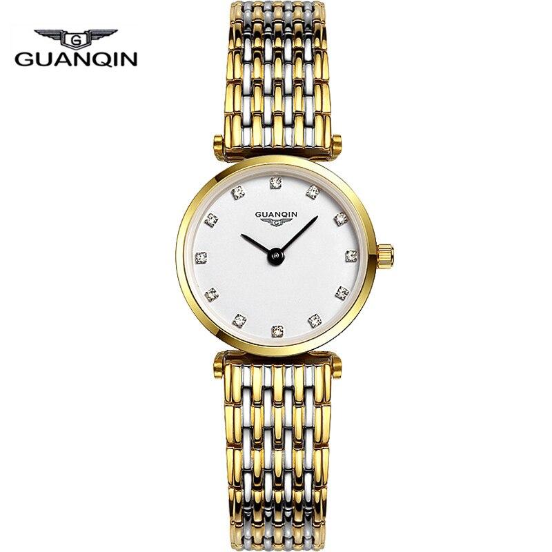 GUANQIN Ultra Thin Design Fashion Women Watch Waterproof Luxury Quartz Watch Clocks Women Brand Watches Relogio Feminino<br><br>Aliexpress