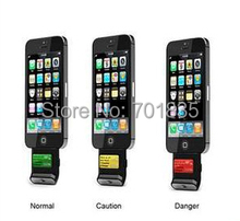 wholesale new alcohol tester breathalyzers for iPhone 4 dropship free shipping