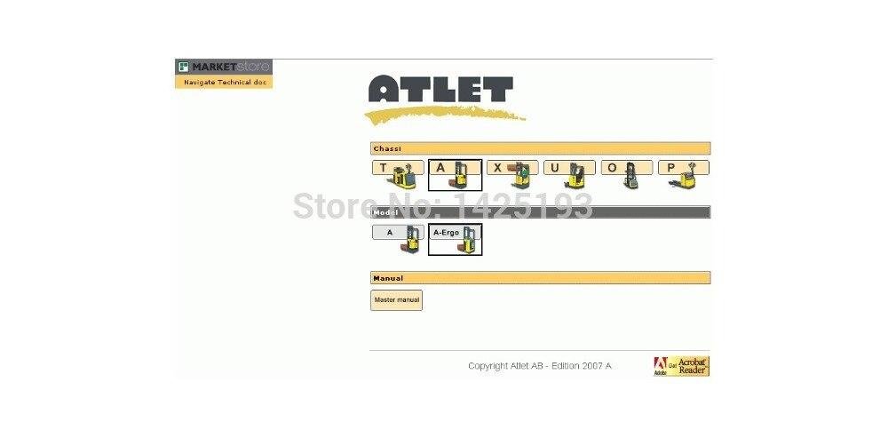 Atlet AB Forklift Parts Catalog<br><br>Aliexpress