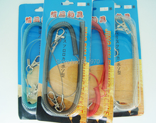 High Quality Fishing Tackle Fishing retention rope within steel wire . Max. length 5m.4 colors available