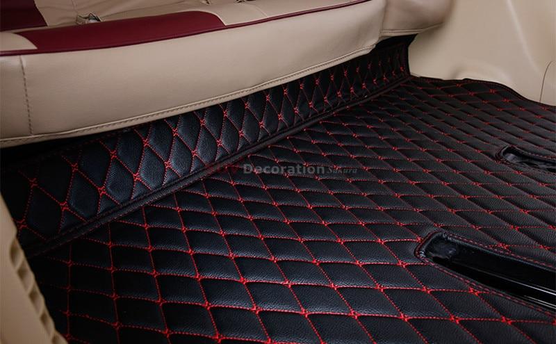 7 seats For Toyota Land Cruiser Prado FJ150 2010-2013 Inner Floor Mats Foot Pad Auto Leather Carpet 1set<br><br>Aliexpress