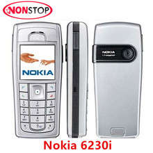 6230i Original Nokia 6230i Unlocked Refurbished Bluetooth MP3 1.3MP Camera Mobile Phone(China)